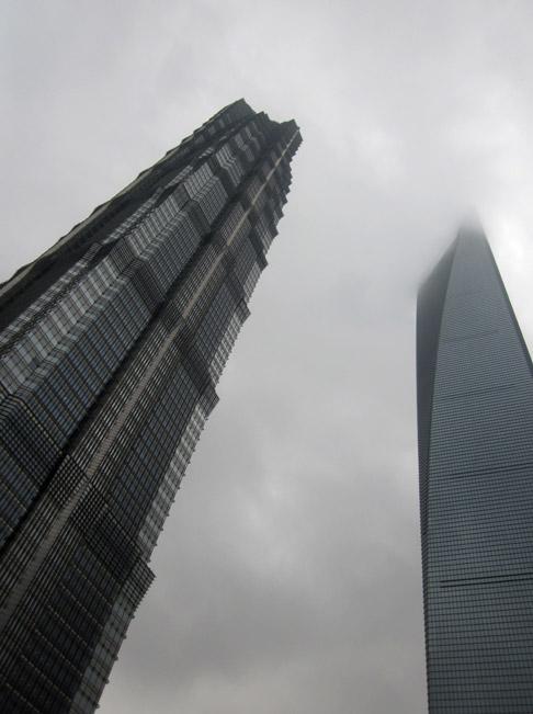 Travel in Shanghai Blog: On the 91st floor of the Park Hyatt Shanghai