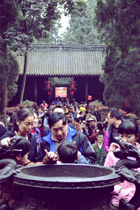 Chengdu Temple Fair: Chinese New Year Travel Blog