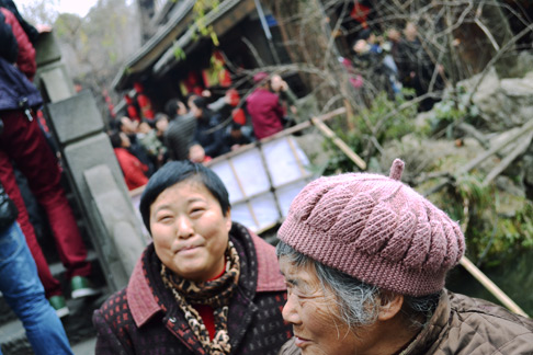 Travel in Sichuan over Chiense New Year: Temple Fair in Sichuan Chengdu