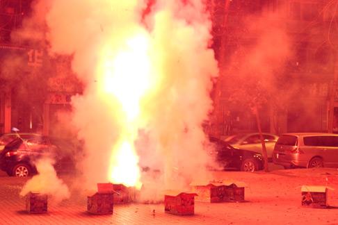 Sichuan Spring Festival 2013 Fireworks