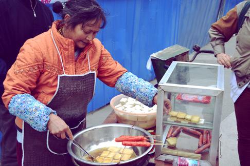 Spring Festival: Chengdu travel blog sichuan food stinky tofu