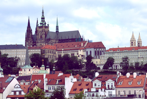 Indie travel blog Czech Republic: Prague Castle King Charles Bridge