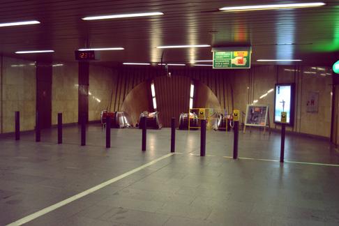 Beijing Expat Travel Blog: Prague Subway Entrance