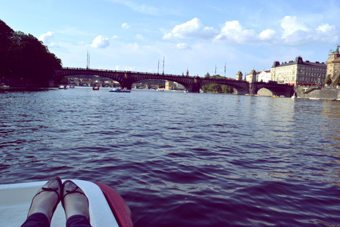 Indie Travel Blog Czech: Peddle Boats on the River